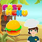 Fast Menu Game