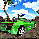 Xtreme Beach Car Racingg