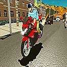 Магистрален трафик на мотоциклети