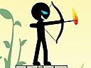 Стик стрелец с лък 4