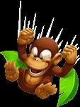 Маймуната скача