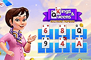 Kings Queens Solitaire Tripeaks