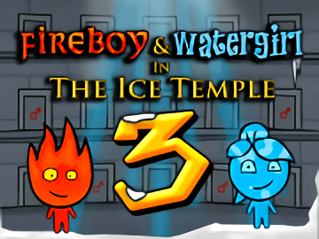 Fireboy and Water Girl 3 in Ice Temple