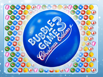 Bubble Game 3 Christmas Edition