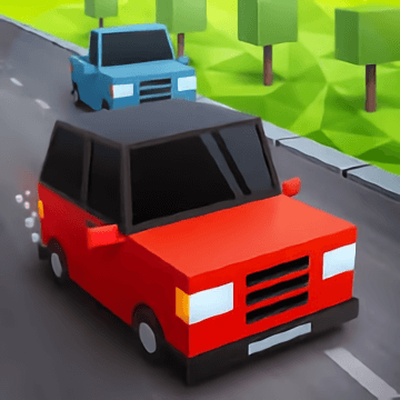 Pixel Car Rush 3D