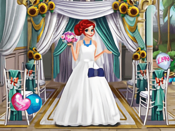 Prıncess Weddıng Dress Up