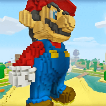 Minecraft Mario 2