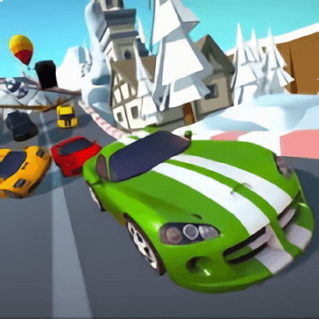 Cartoon Racers North Pole