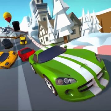 Cartoon Racers North Pole