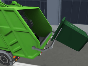 Garbage Sanitation Truck