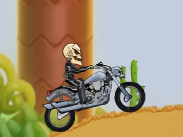 Motor Bike Hill Racing 2D