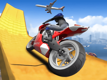 Impossible Moto Bike Track Stunts