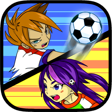 Yuki and Rina Football