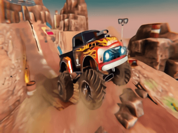 Monster Truck Racing OFF Road  Driving Simulator