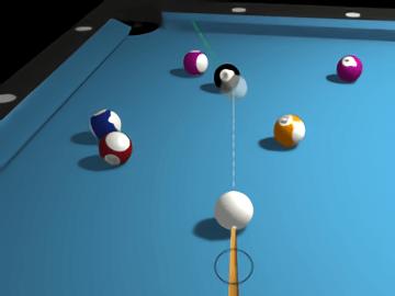 3D Billiards 8 Ball Pool