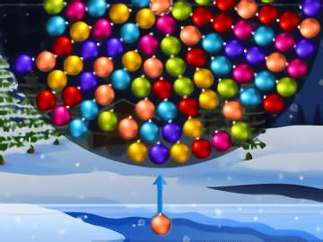 Orbiting Xmas Balls