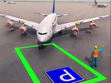 Аir plane parking 3D
