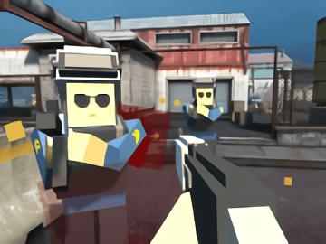 Pixel Factory Battle 3D. io