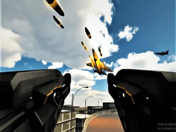 Anti Aircraft Attack  Modern Jet War