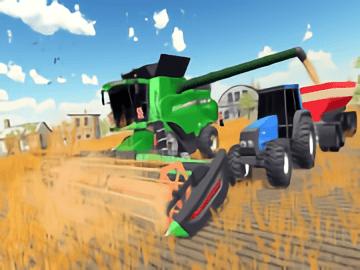 Real Village Farming Tractor Farming Simulator 2020