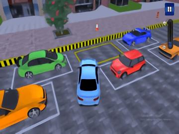 Garage Car Parking Simulator