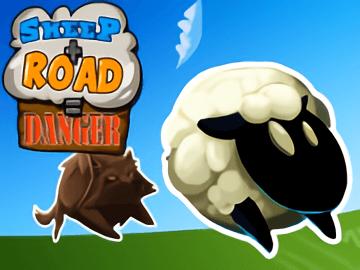 Sheep Road Danger