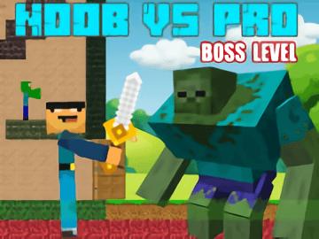 Noob vs Pro: Boss Levels