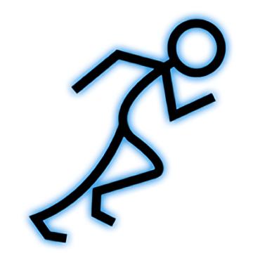 Stickman School Run