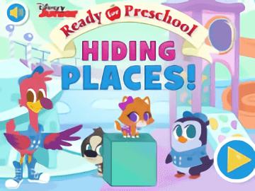 Ready for Preschool Hiding Places